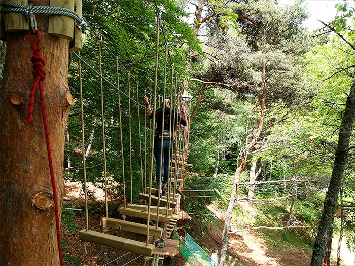 Acroforez - Parcours d'obstacles
