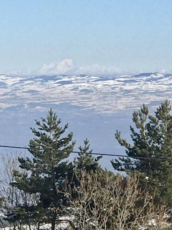 Vue Mont Blanc Acr'Oforez
